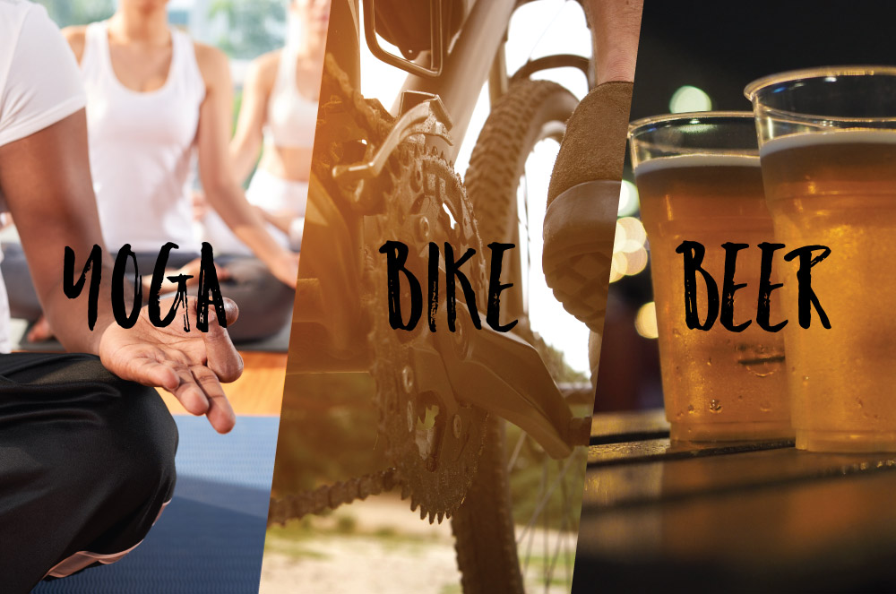 Yoga/Bike/Beer Workshop